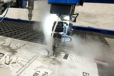 Waterjet 5 Axis Cutting